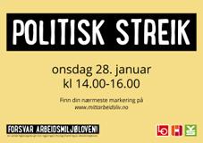 Politisk streik 28. januar