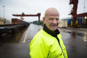 Frode Åsen, Cargonet. Foto: Ole Palmstrøm