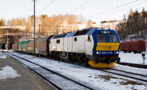 Cargolink på Dombås stasjon. Foto: Wikipedia