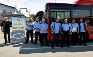 Bussjåfører i Østfold