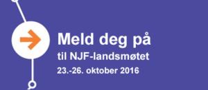 Meld deg på til NJF-landsmøtet 2016