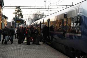 Tunge pensjonsforpliktelser hindrer NSB i å konkurrere på lik linje med private selskaper om å få kjøre tog i Norge. Øystein Bråthen