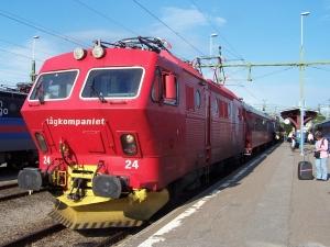 Tågkompaniet. Foto: Henrik Sendelbach via Creative Commons