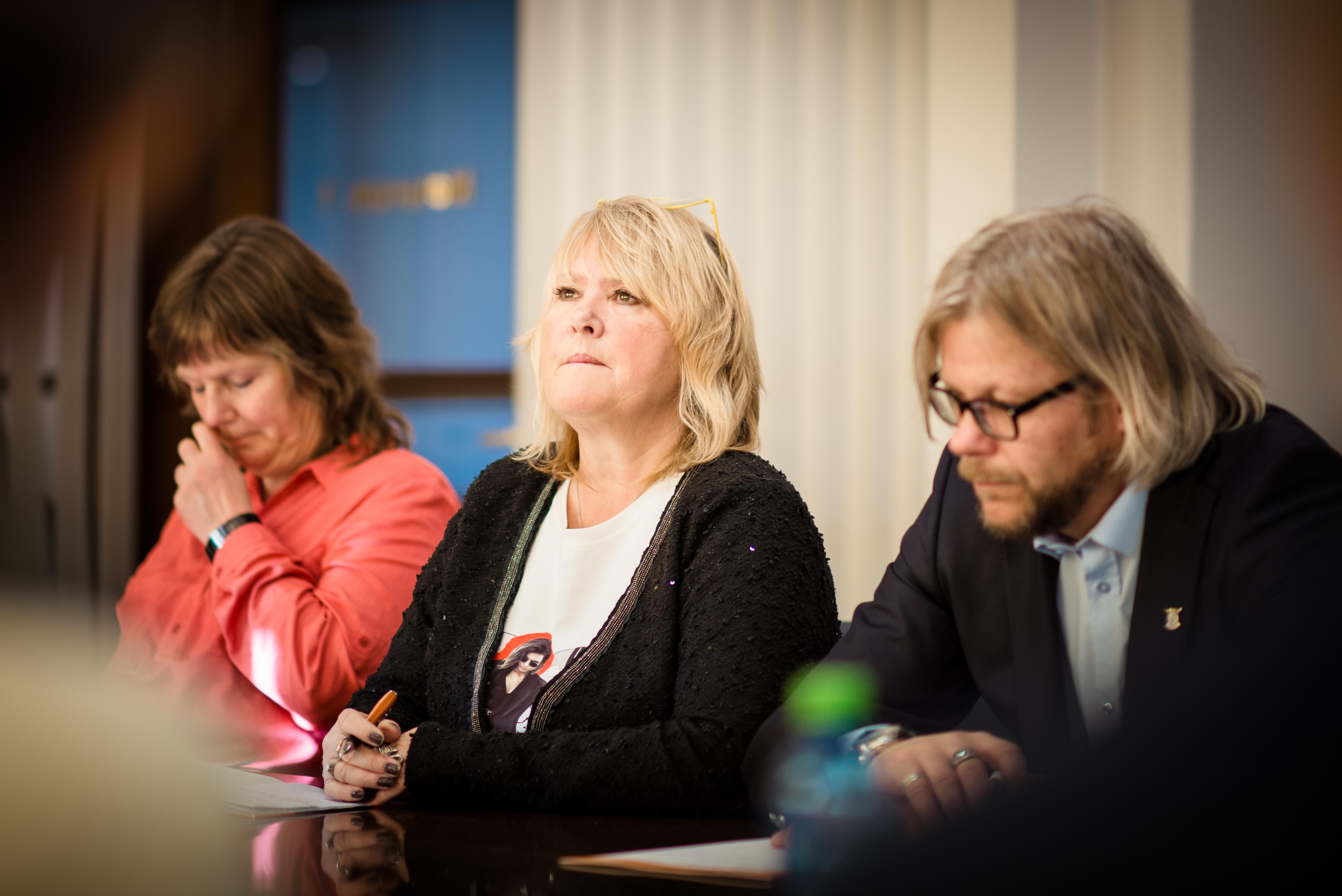 BYGGE VIDERE: – Vi skal bygge videre på avtalen vi har landet i dag, sier Jane Brekkhus Sæthre, forbundsleder i Norsk Jernbaneforbund.