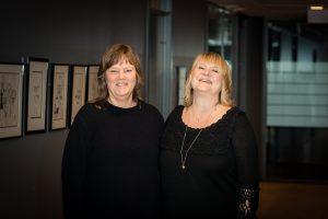 SA JA: Nestleder i LO Stat, Lise Olsen, (t.v.) og forbundsleder, Jane Brekkhus Sæthre, i Norsk Jernbaneforbund har fått et overveldende ja til tariffavtalen i Bane Nor.