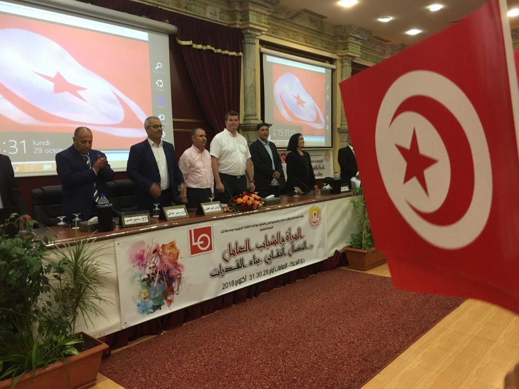 LO-topper i Tunisia