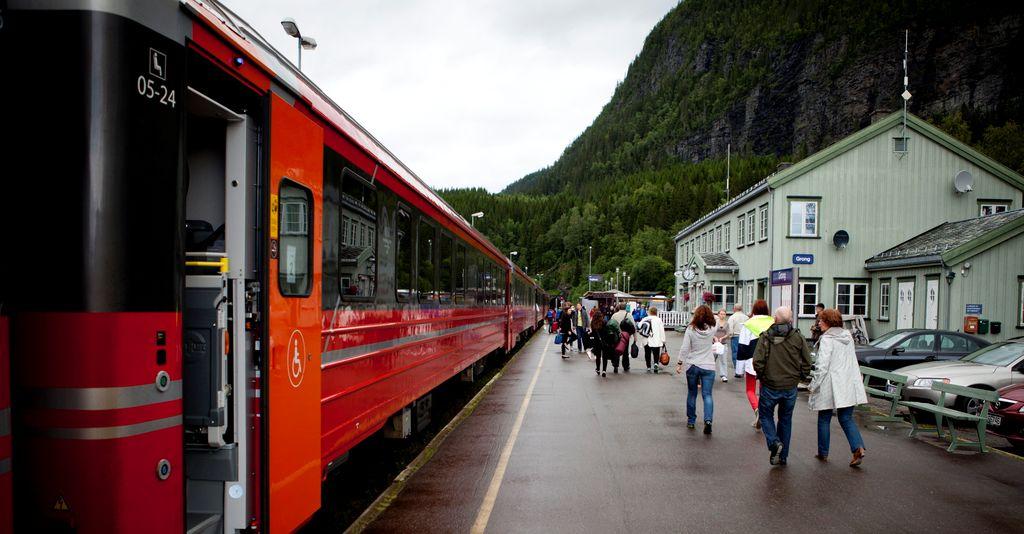 Grong stasjon. Foto: Ole Palmstrøm