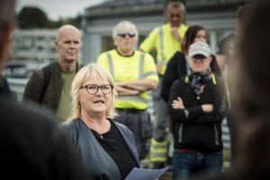 Jane Brekkhus Sæthre, forbundsleder i Norsk Jernbaneforbund.