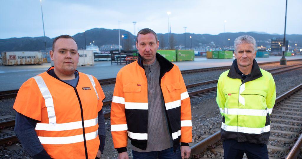 Nå blir det mindre tungtrafikk på strekningen Trondheim - Bodø